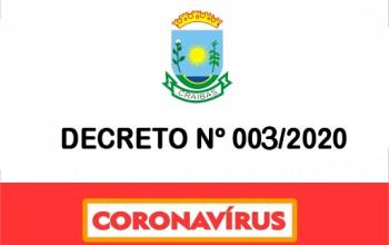 DECRETO 003/2020