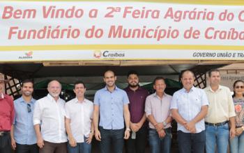 Feira Agrária do Crédito Fundiário é realizada com sucesso em Craíbas
