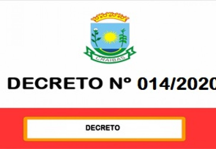 Decreto nº 013/2020