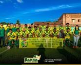 Depois de 16 anos a Seleção Barrense volta a campo com apoio da Prefeitura da Barra de Santo Antônio