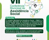 Prefeitura da Barra de Santo Antônio e Conselho Municipal de Assistência Social realizarão conferência nesta terça-feira (31)