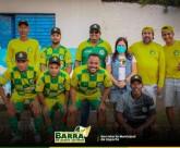 Seleção barrense inicia campeonato de futebol com vitória sobre o Santa Lúcia de Paripueira