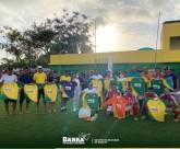 A Prefeitura da Barra de Santo Antônio entrega novos uniformes para a seleção barrense.