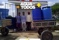 + 314 FAMÍLIAS ATENDIDAS. + ÁGUA PARA TODOS