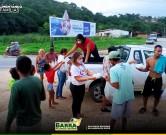 Prefeitura da Barra de Sto Antônio distribui alimentos para famílias em situação de vulnerabilidade social