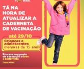 A Prefeitura da Barra de Santo Antônio adere à Campanha para atualização da caderneta de vacinação de crianças e adolescentes.
